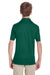 Team 365 TT51Y Youth Zone Performance Moisture Wicking Short Sleeve Polo Shirt Forest Green Back