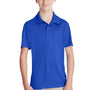 Team 365 Youth Zone Performance Moisture Wicking Short Sleeve Polo Shirt - Royal Blue