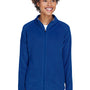 Team 365 Womens Campus Full Zip Microfleece Jacket - Royal Blue