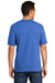 Port & Company USA100P Mens USA Made Short Sleeve Crewneck T-Shirt w/ Pocket Royal Blue Back