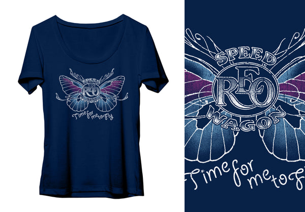 Ladies Butterfly Tee
