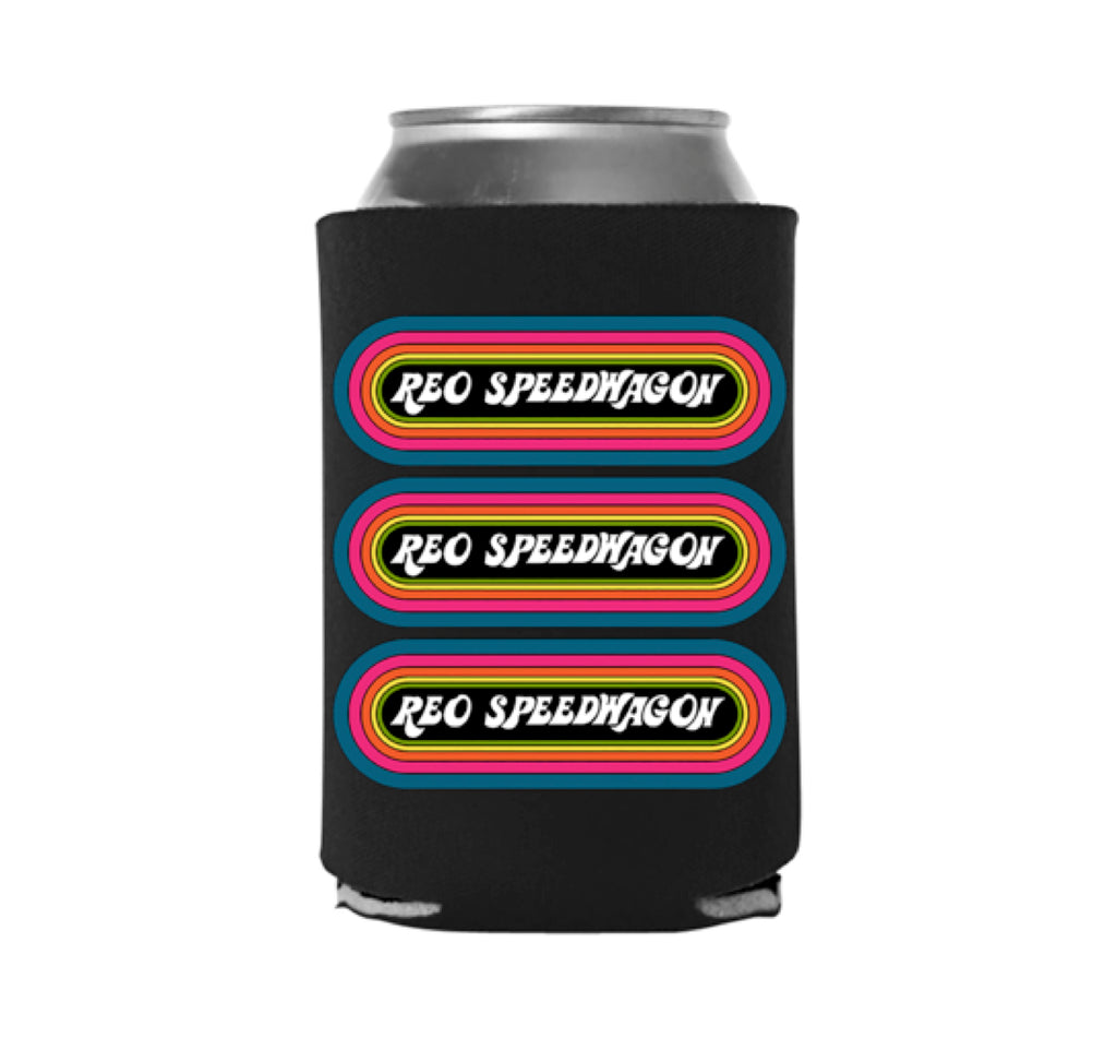 REO Speedwagon Beverage Koozie