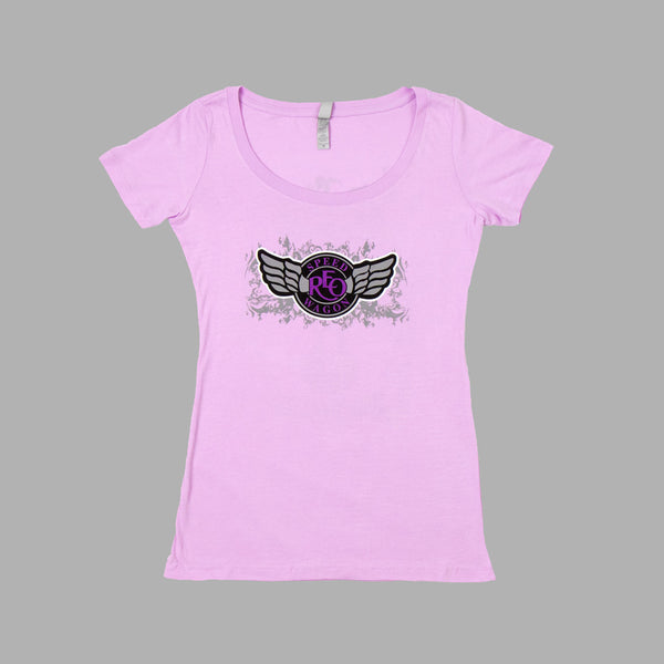 Guitar Angel Lilac Tee