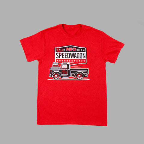 Red Rollin Pickup Tee