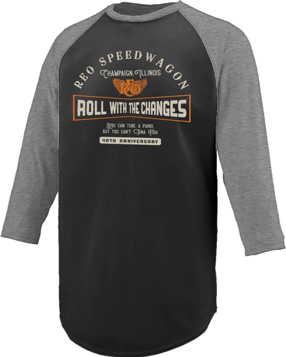 Roll With the Changes Baseball Tee