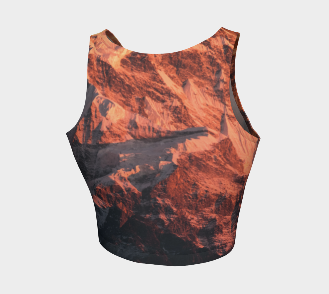 Mountainscape Crop Top - OAD : OUTSIDE.ALL.DAY