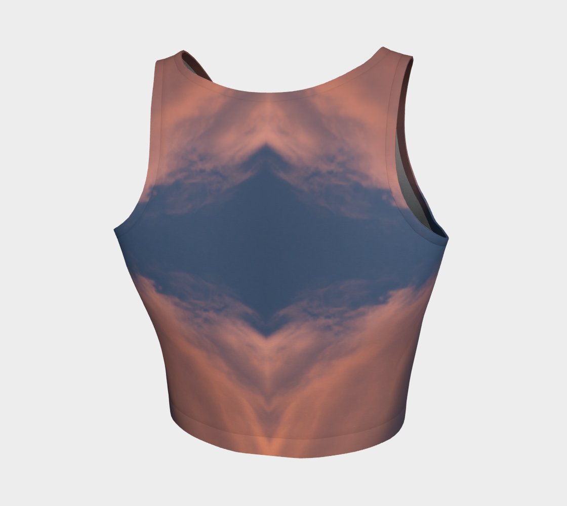 Desert Sunset Crop Top - OAD : OUTSIDE.ALL.DAY