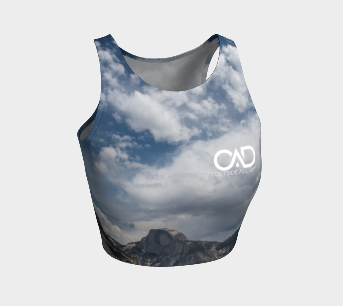 Half Dome Crop Top - OAD : OUTSIDE.ALL.DAY