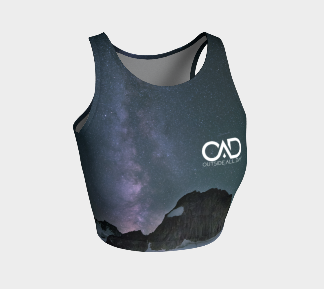 Milky Way Crop Top