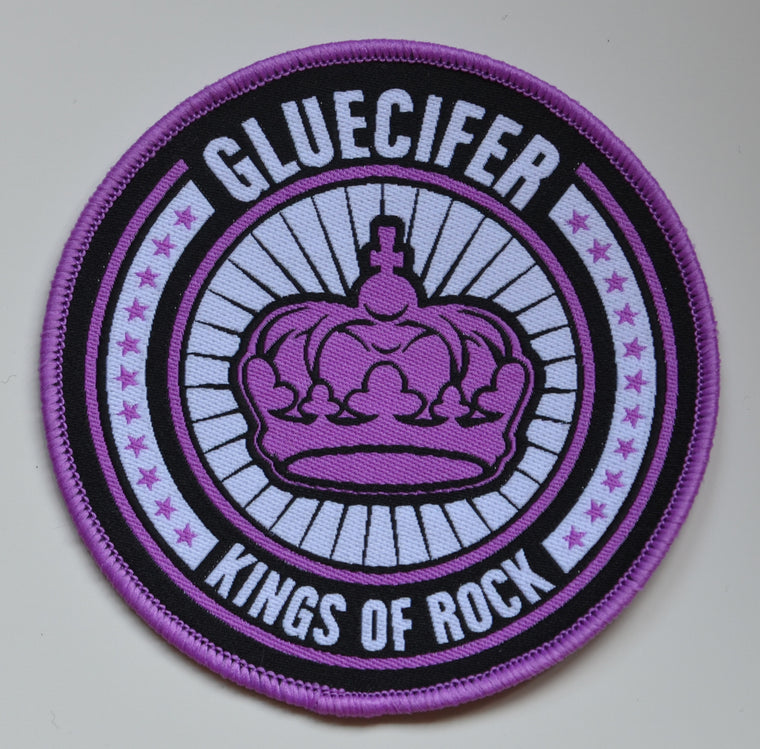 Gluecifer - Patch - Kings of Rock (purple)
