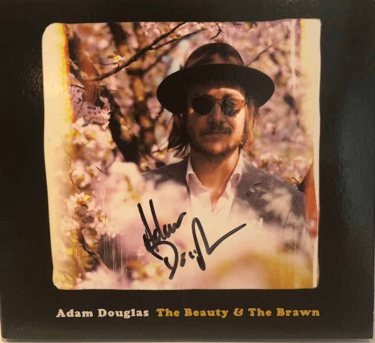 Adam Douglas: CD - The Beaty & The Brawn - (SIGNERT)