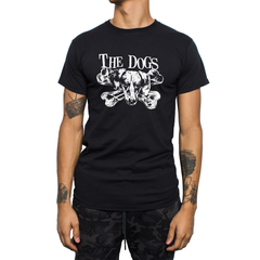 The Dogs - t-skjorte - Logo (Black/White)