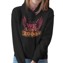 We Love the 2000's - Hoodie med Logo