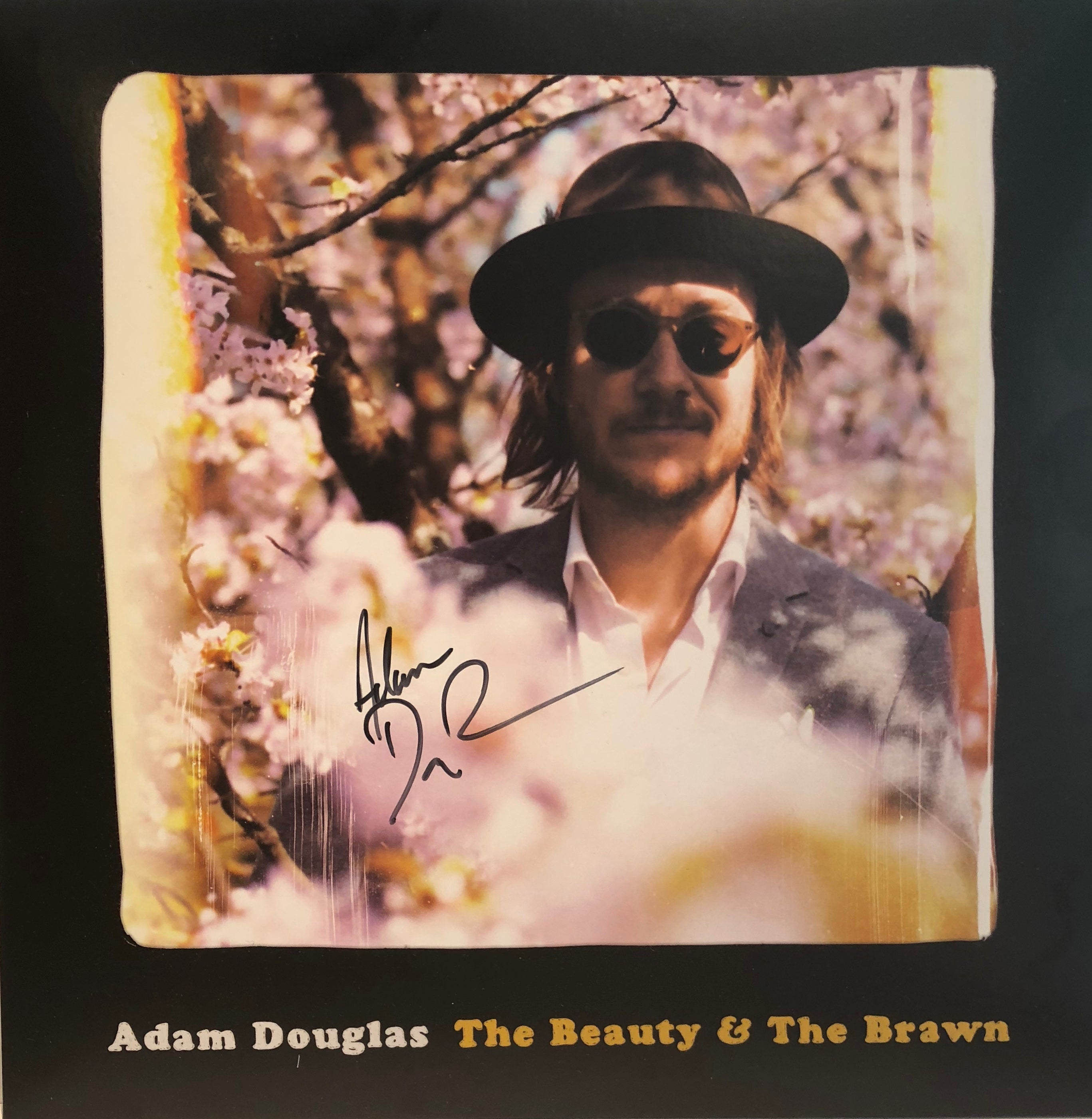Adam Douglas: VINYL - The Beaty & The Brawn - (SIGNERT)