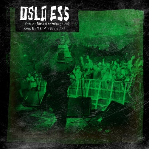 "Oslo Ess - LP single - ""Bislet Stadion"" + ""Primitiv"""
