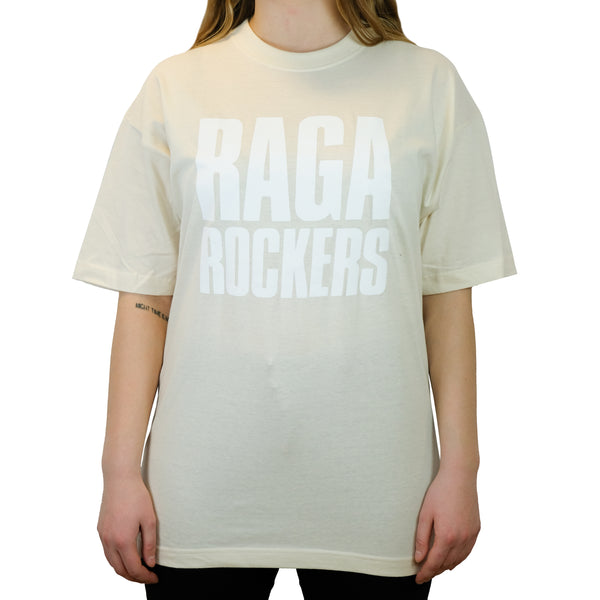 Raga Rockers - t-shirt - White on White