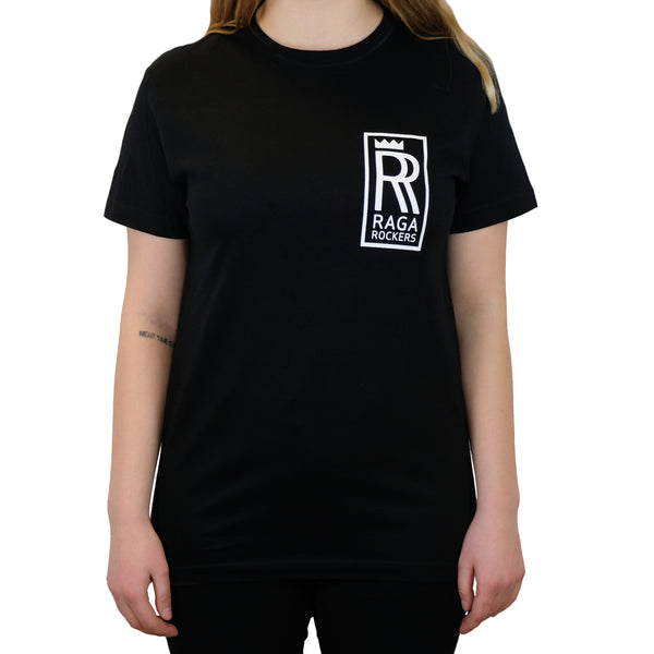 Raga Rockers - t-shirt RR logo sort