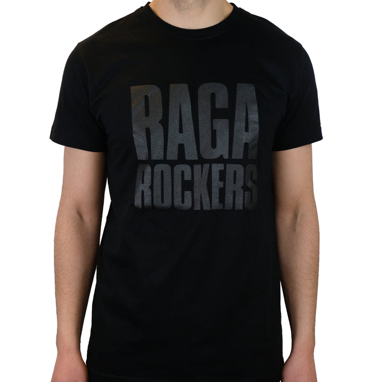 Raga Rockers - t-shirt - Black on Black