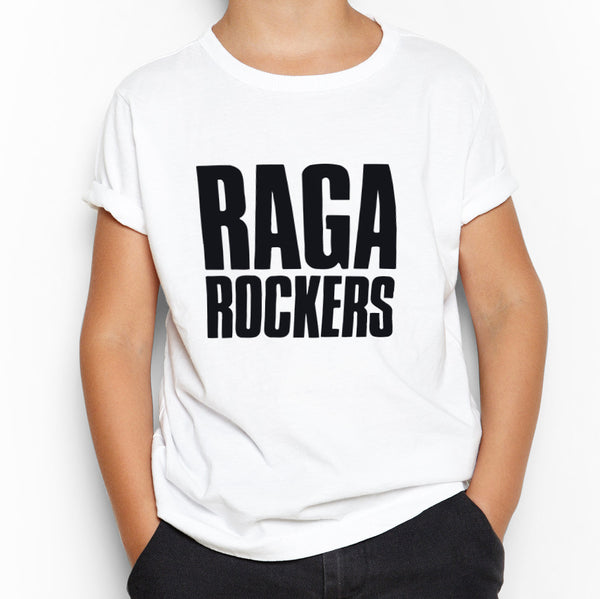 Raga Rockers - t-shirt - logo (Barn)