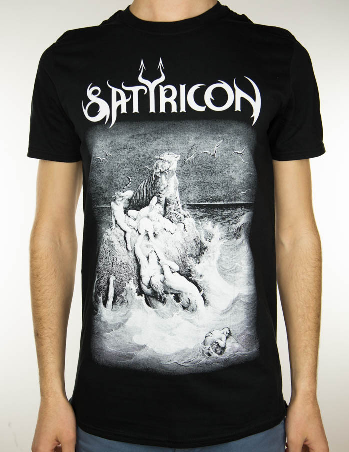 Satyricon - T-shirt - Burial Rite