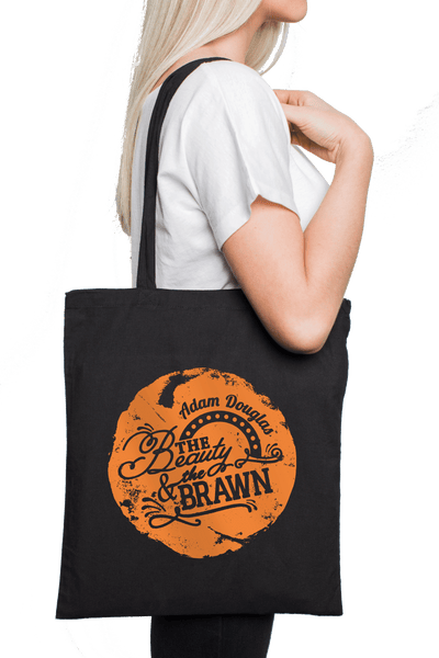 Adam Douglas - The Beauty And The Brawn totebag special - large print