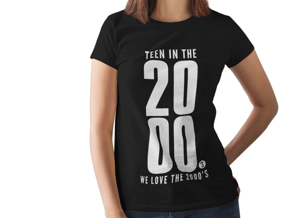 "We Love the 2000's - T-skjorte - ""Teen In The Year 2000"""