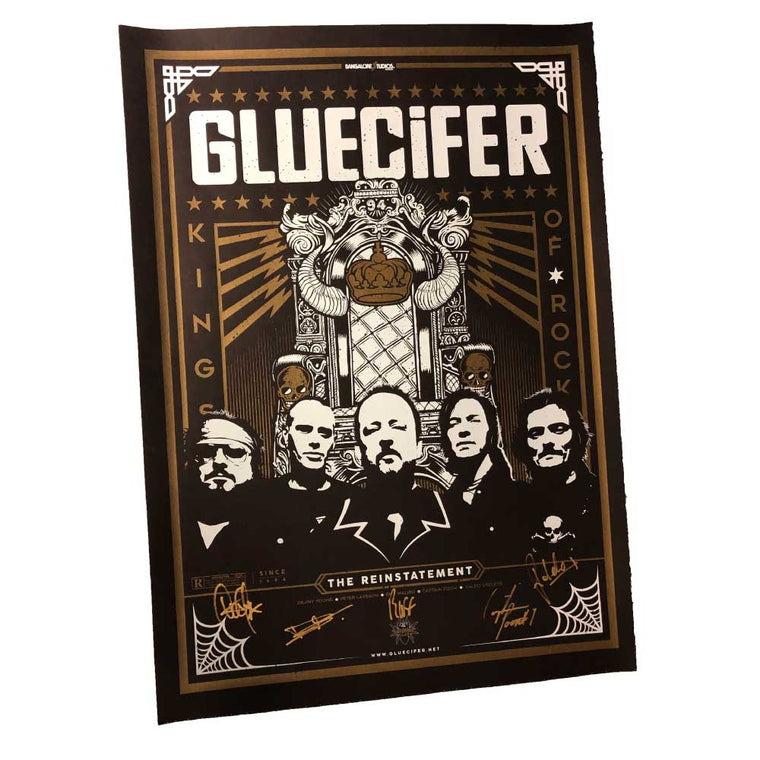 Gluecifer - Silketrykket plakat (limited edition)