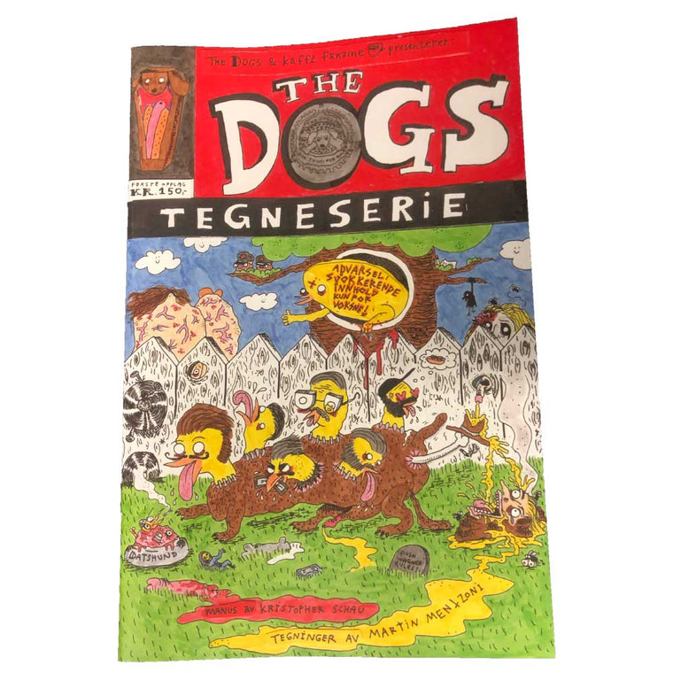 The Dogs - Tegneserie