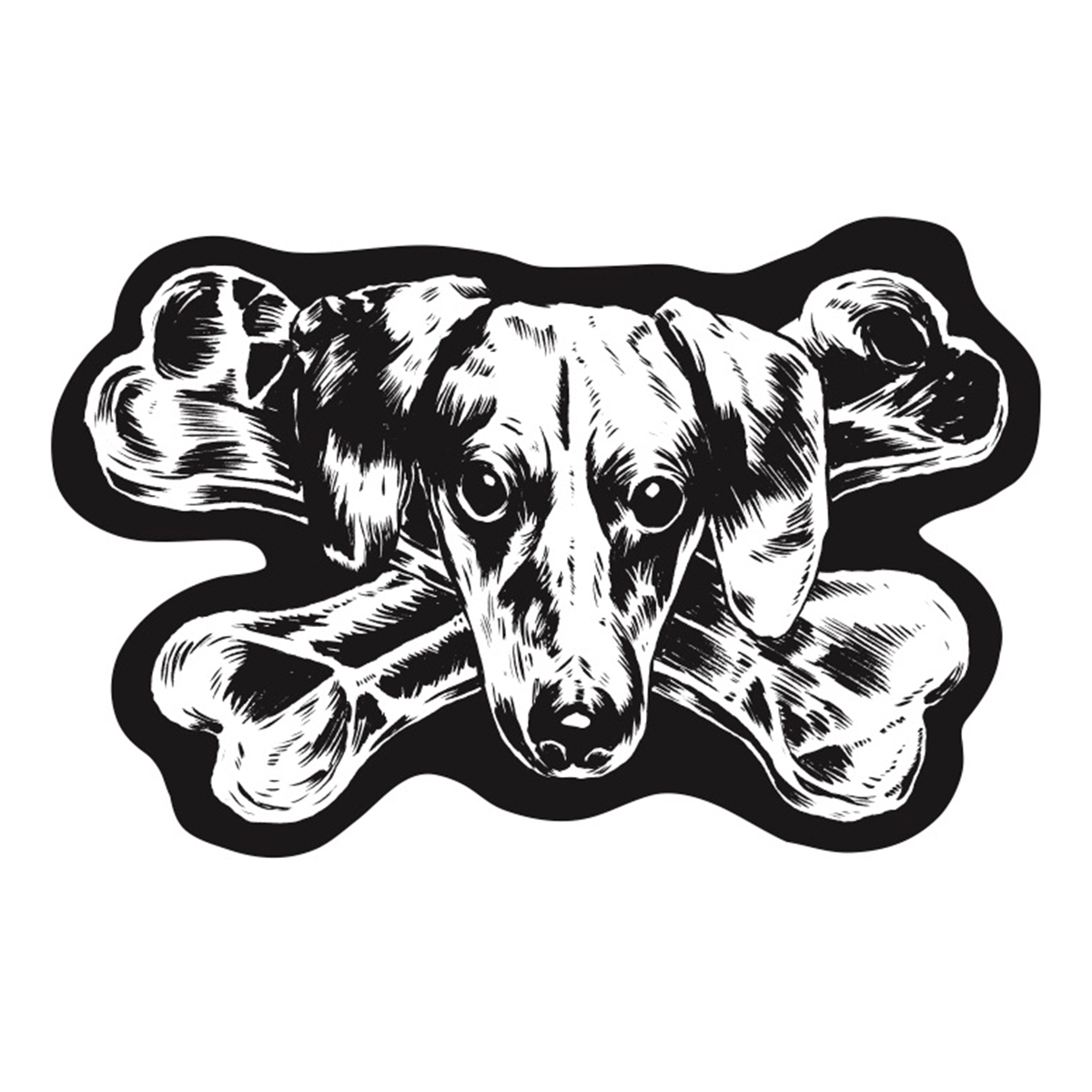 The Dogs - Logo patch
