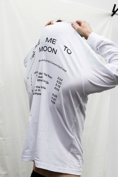 "Fay Wildhagen - Longsleeve - hvit - ""Leave Me to the Moon"""