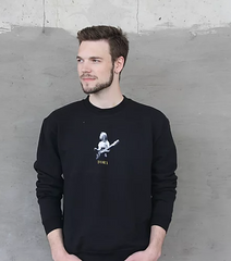 Tora - sweatshirt - black