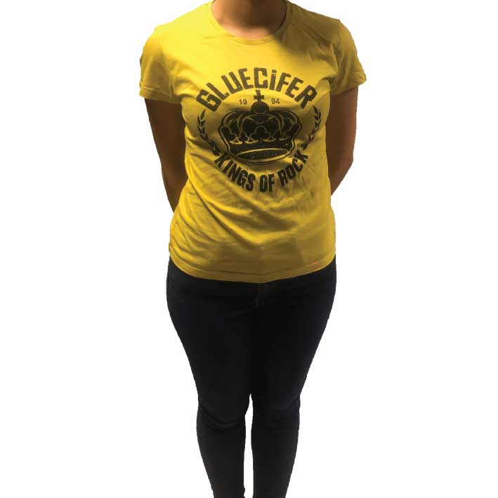 Gluecifer - T-shirt - Kings Of Rock (Ladies)