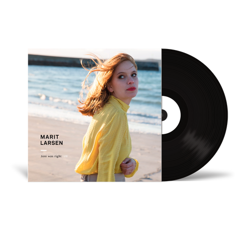 Marit Larsen: Vinyl - Joni Was Right [SIGNERT]