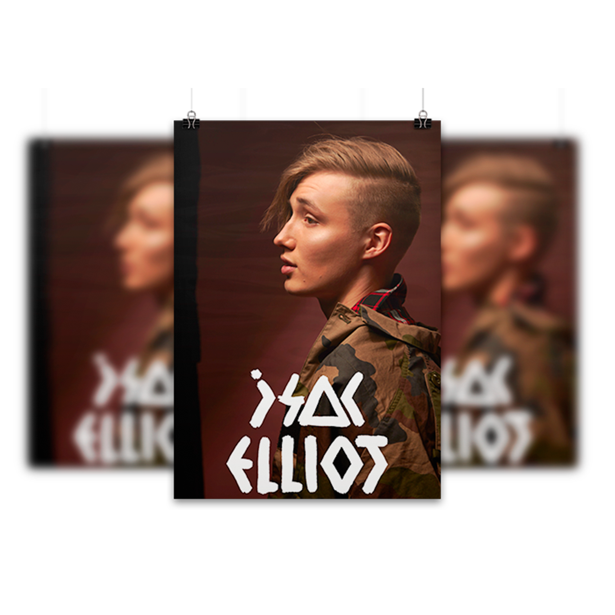 Isac Elliot: Poster