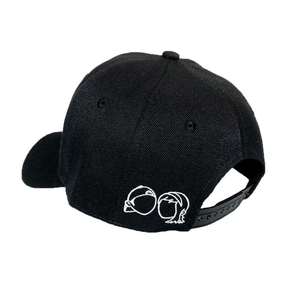 L&S - caps - Snapback - Black