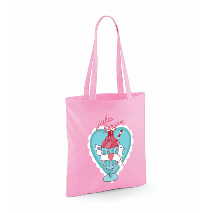 Julie Bergan: Tote bag - Milkshake