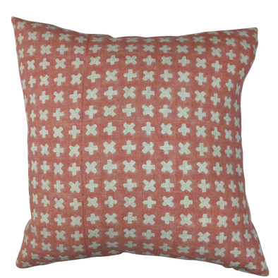 Bogo - Coral Dust Linen Pillow