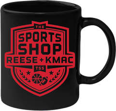 The Sports Shop Radio Black Mug