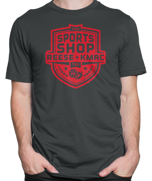 The Sports Shop Radio Red Logo T-shirt Mens Fitted Tee