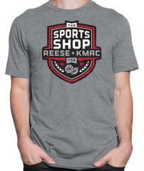 The Sports Shop Radio Logo T-shirt Mens Fitted Tee