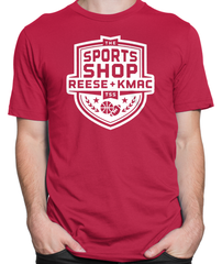 The Sports Shop Radio White Logo T-shirt Mens Fitted Tee