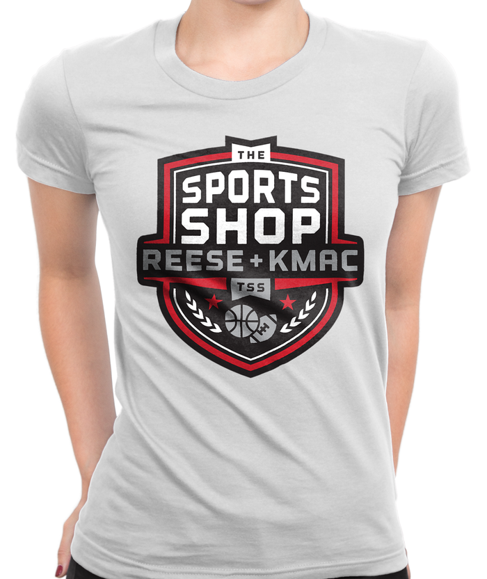 The Sports Shop Radio Logo T-Shirt Womens Fitted Tee