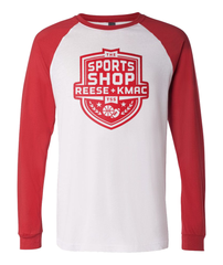 The Sports Shop Radio Red Logo Raglan