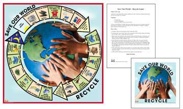 Save Our World: Recycle - M&M Montessori Materials