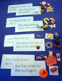 Blue Sentences & Objects Sets - M&M Montessori Materials  - 1