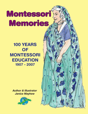 Montessori Memories Colouring Book - M&M Montessori Materials