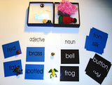 Adjective Noun Game - M&M Montessori Materials  - 1