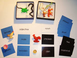 Adjective Noun Game - M&M Montessori Materials  - 2