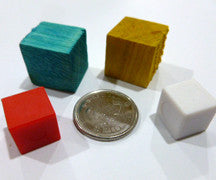 Block - Cube - M&M Montessori Materials