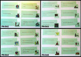 Phonogram Sentences & Pictures Sets - M&M Montessori Materials  - 1